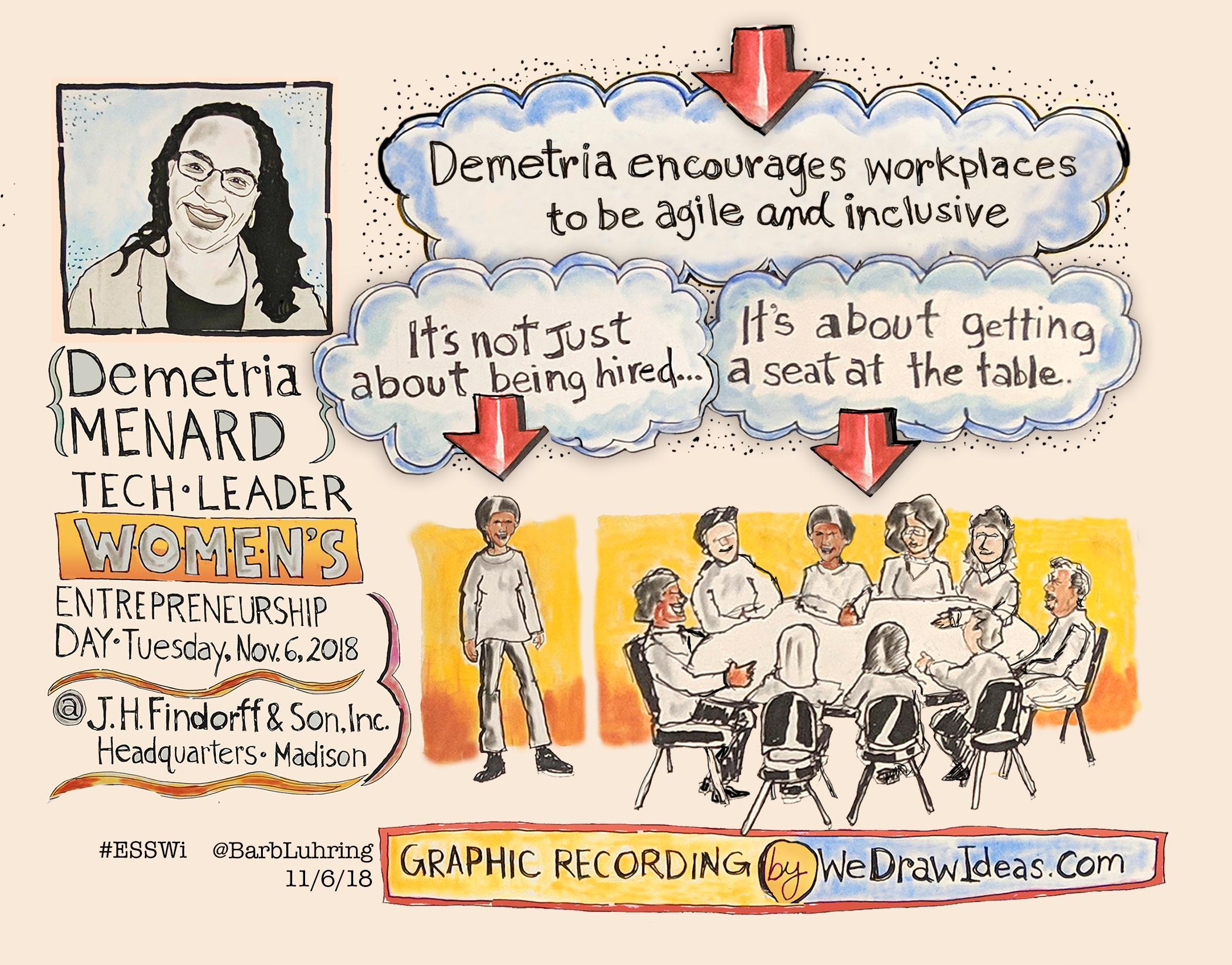 Demetria Menard - Tech Leader