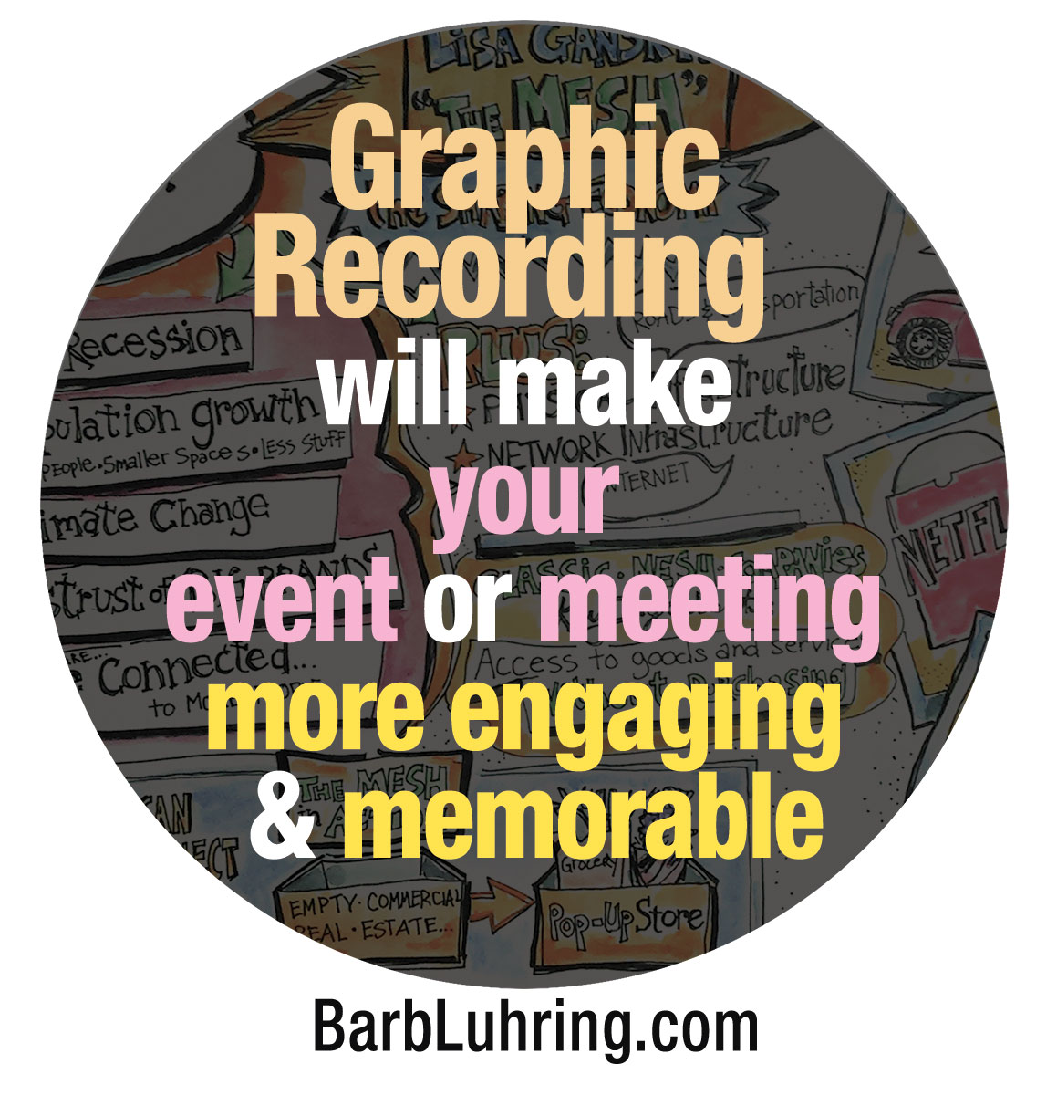 Graphic recording by Barb Luhring